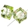 Swarovski Bead 5601 Cube 8mm Luminous Green B Crystal